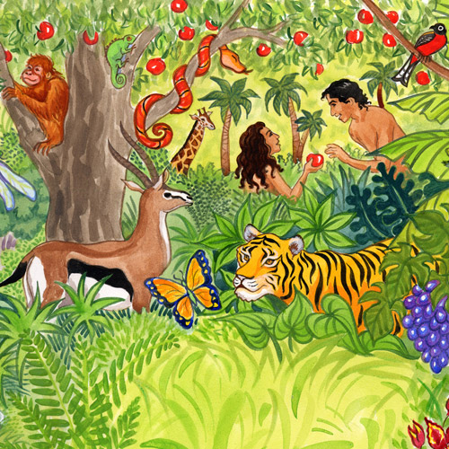 Garden of Eden Illustration